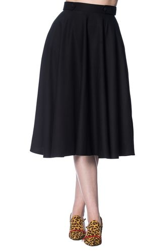 Didi Swing Skirt Black