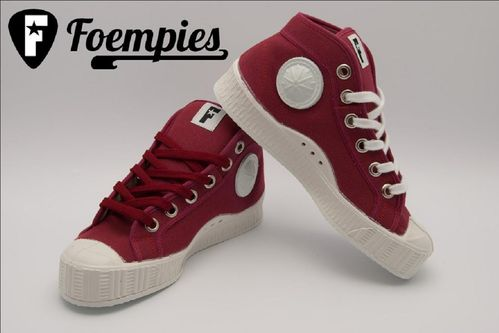 Foempies Sneakers Burgundy Wine