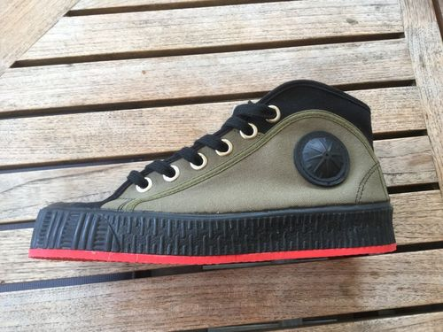 Foempies Khaki rebel Sneakers