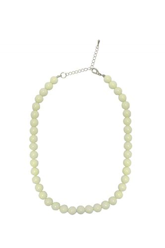 Coloured bead necklace Ivory