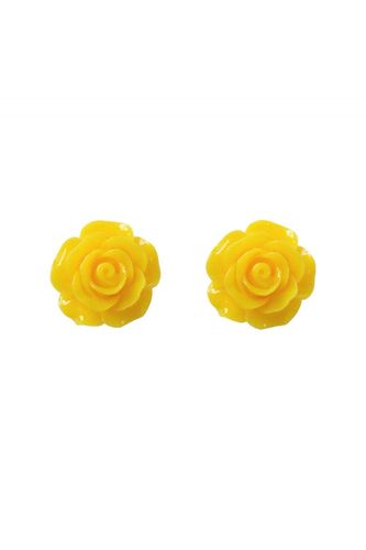 English Roses Studs Yellow