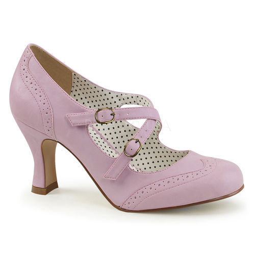 Criss Cross Mary Jane Pump Lavender