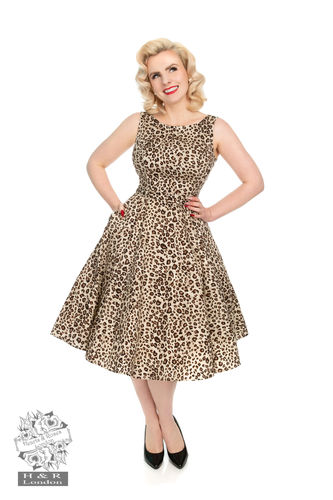Zabrona Leopard  print Dress