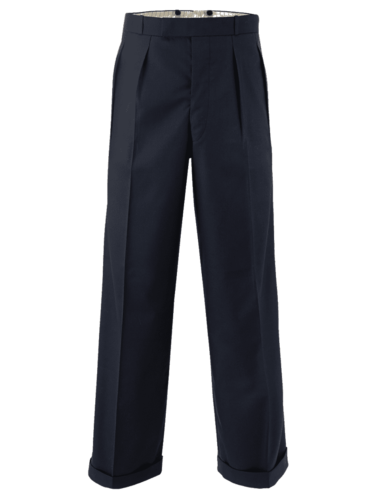 Mens 40's Trousers in Black