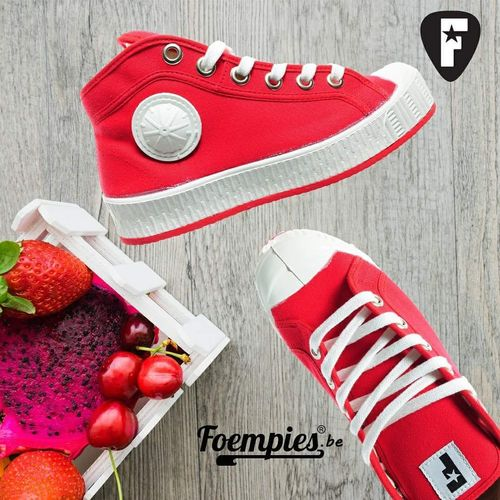 Foempies Sneakers Red Cherry