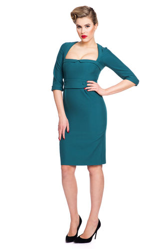 Pencil Dress Old Green
