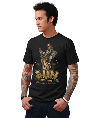 Sun Roosterbilly Mens T-shirt