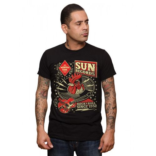 Sun Record Hop Mens T-shirt