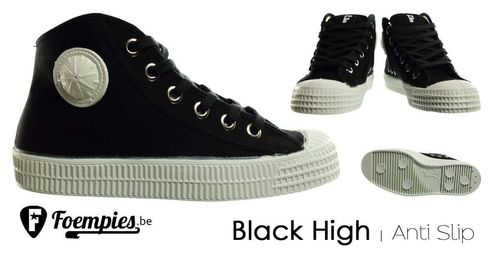 Foempies Sneakers High Black