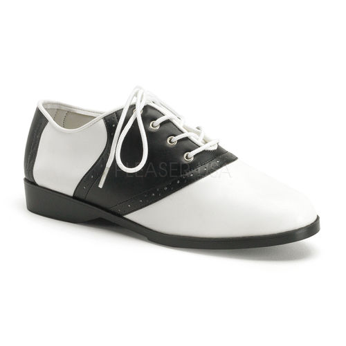 Dancing Saddle shoes black/white