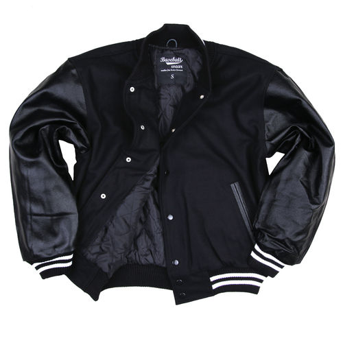 Baseball Jacket Black/Black