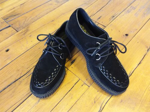 Rockabilly Creepers black suede