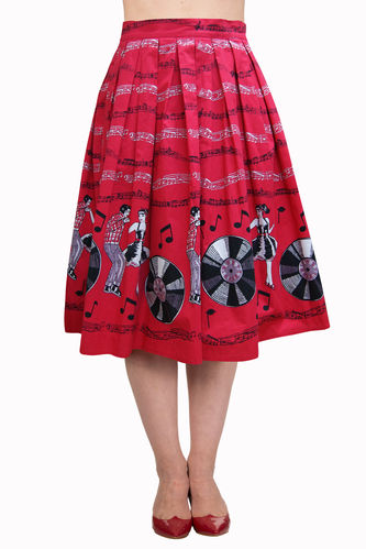Enpower Skirt Red