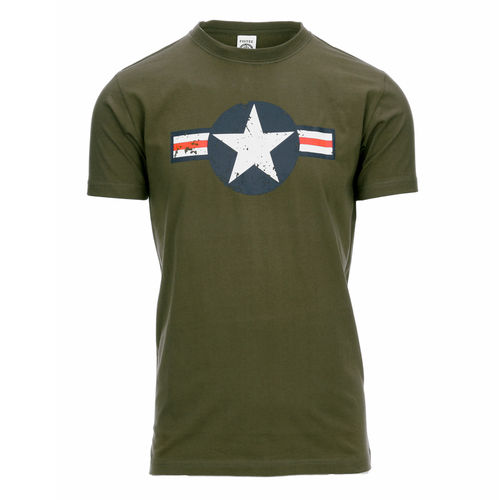 WW II T-shirt green