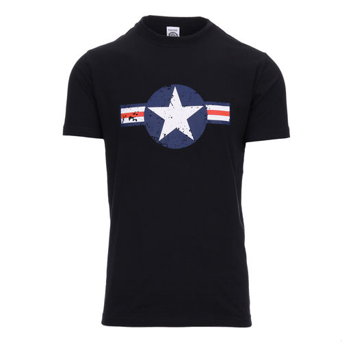 WW II T-shirt black