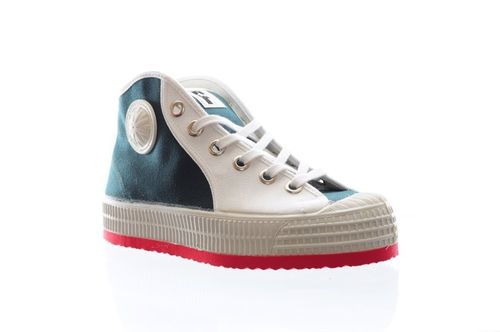 Foempies Sneakers Fusion Ceder/White-red soles