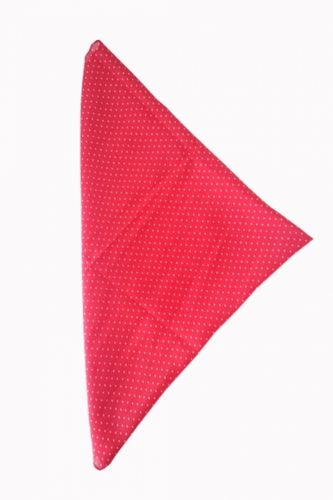 Polka dots scarf red/white