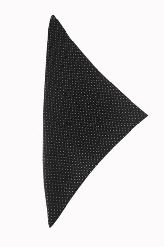 Polka dots scarf black/white