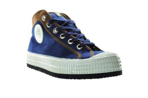 Foempies Indigo-Brown Sneakers V2