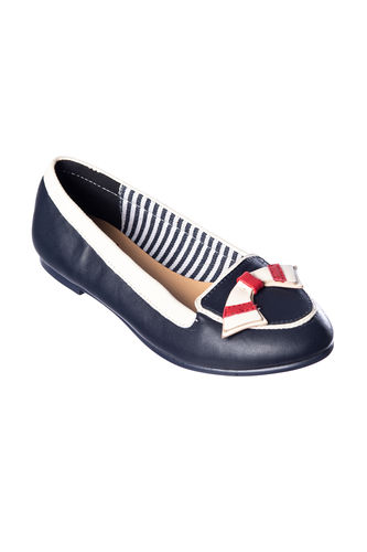 St Tropez shoes Navy