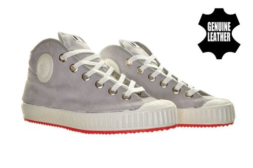 Foempies Grey Suede Deluxe sneakers V2
