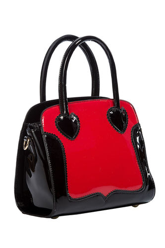 Miss Frankie handbag Black/Red