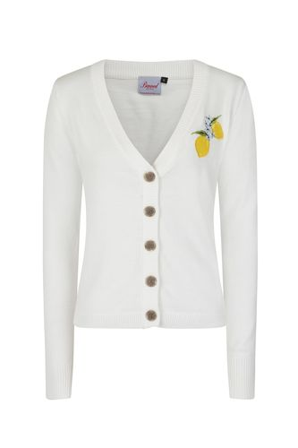 Lemon Cardigan white