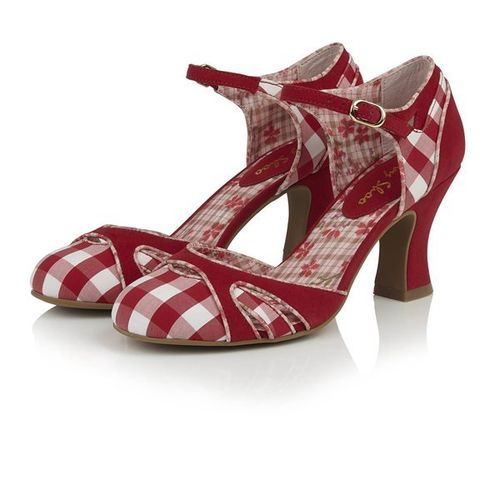 Jeraldine shoes Red