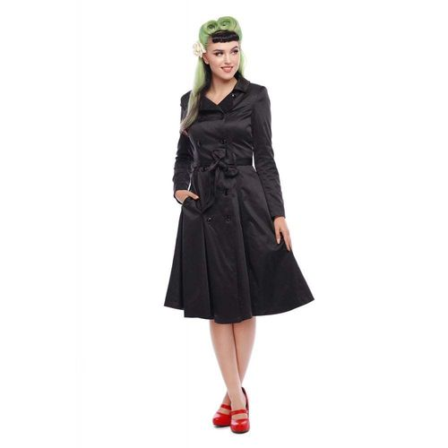 Korrina Swing Trench Black