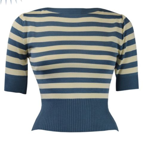 Bateau Sweater Blue stripe